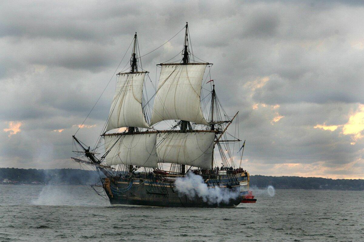 фото военных парусных кораблей сути