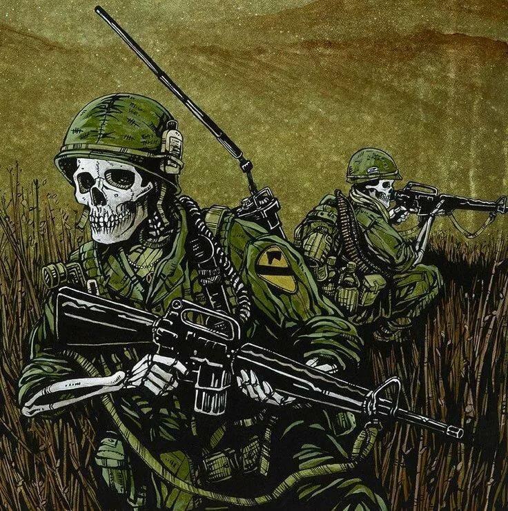 чем картинки солдата с черепом это