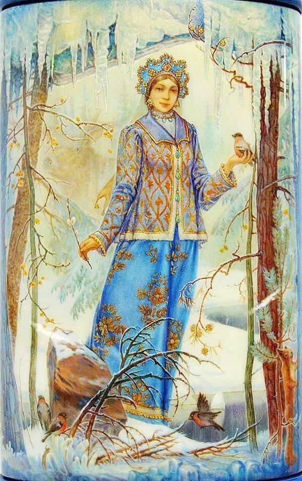 Картинки снегурочки в живописи