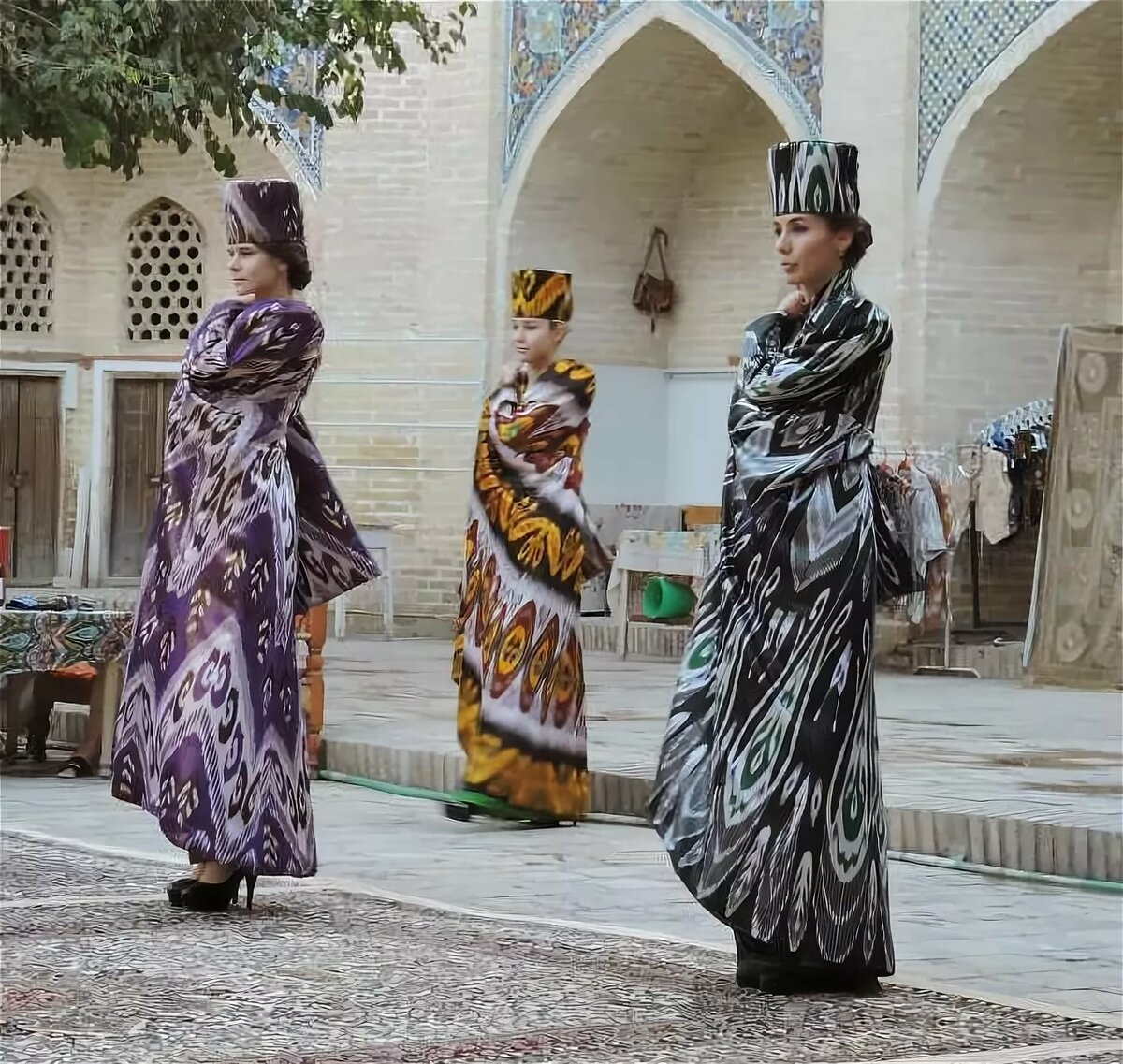 картинки узбекистан наряд умилением разглядываем