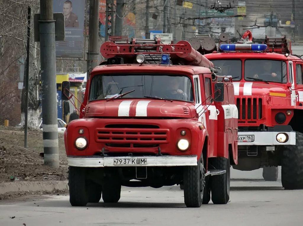 Картинки пожарной машины зил