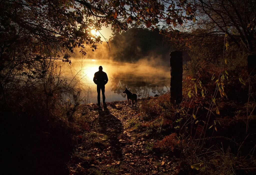 нормам, фото одинокого мужчины на природе часть