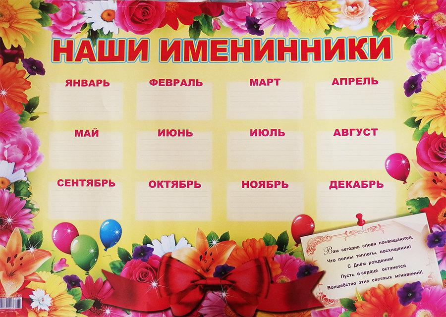 Картинки именинники месяца