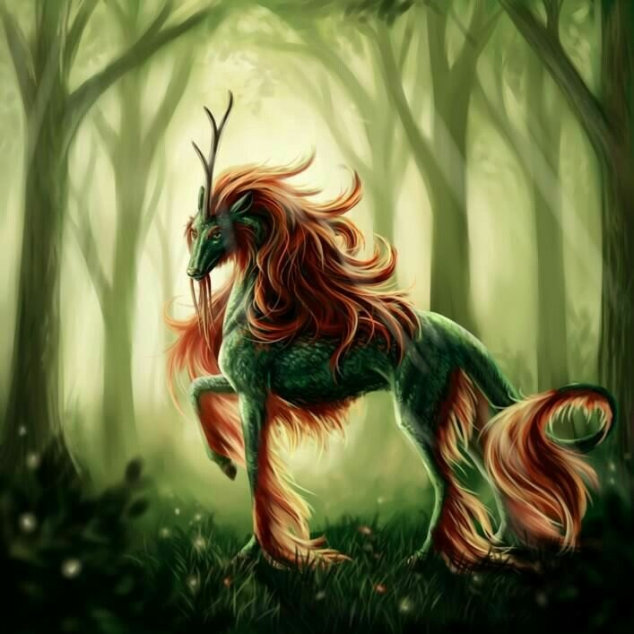 мистические животные список с картинками нужно путать рулонную