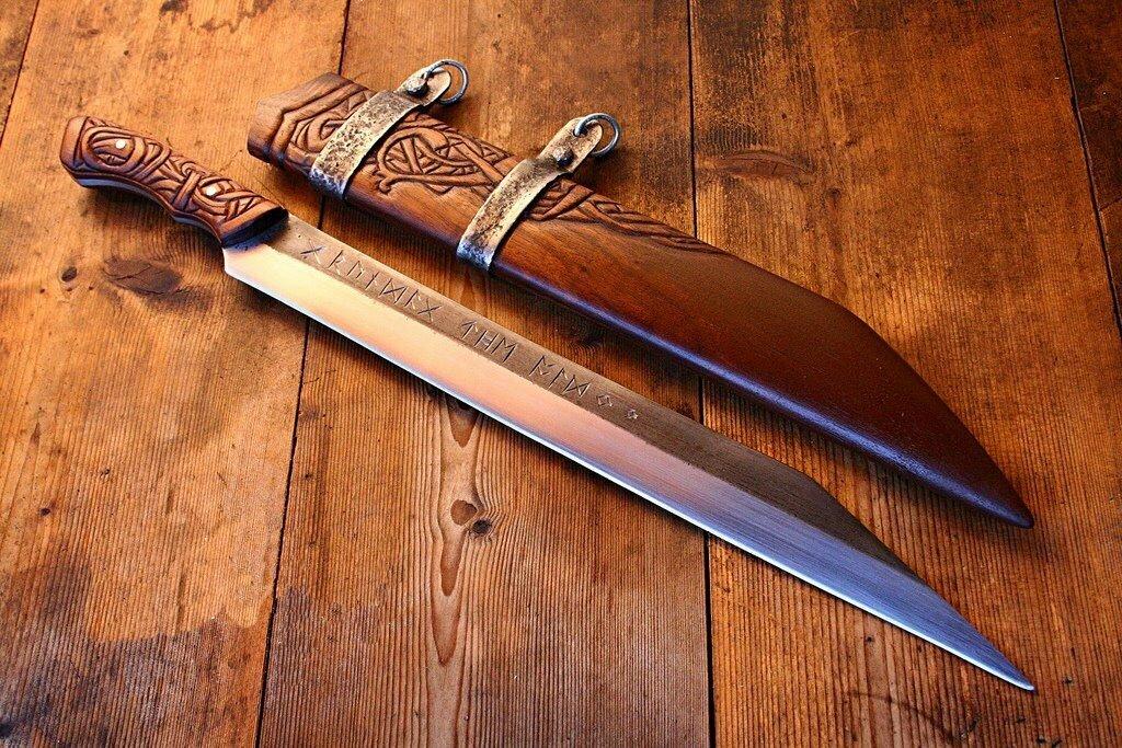 Славянское холодное оружие