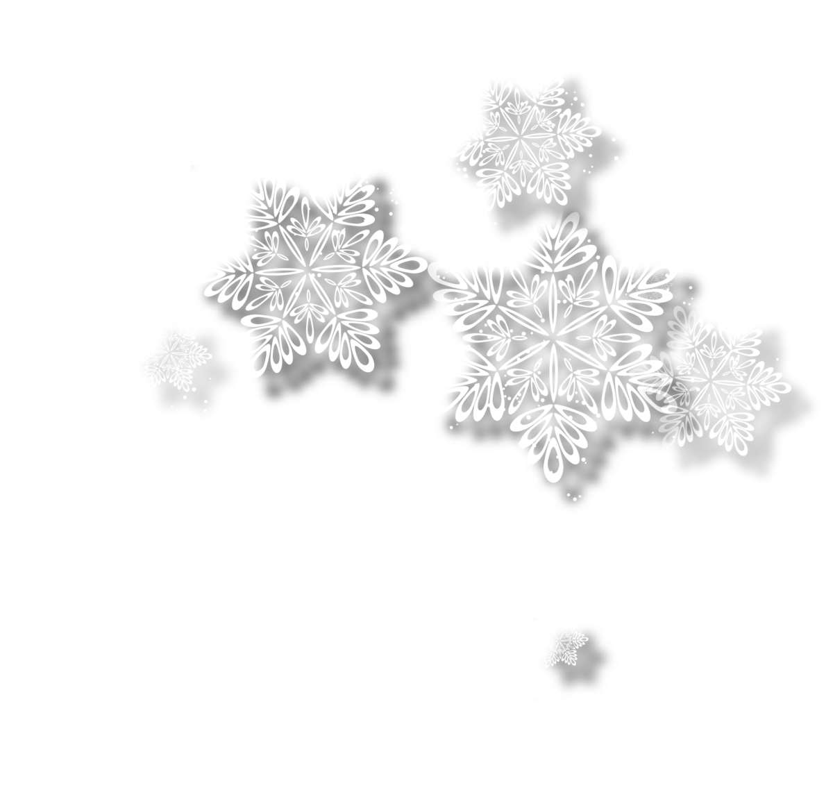 картинки белых снежинок без фона африке