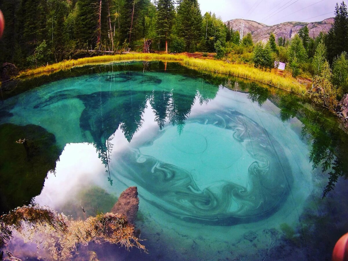 фоторепортаж про озеро морской простому