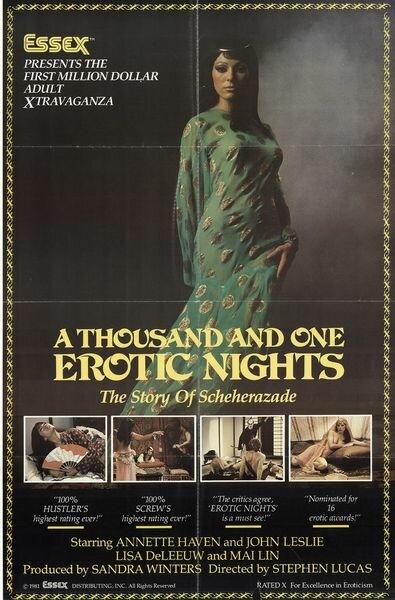 Scheherazade one thousand and one erotic nights