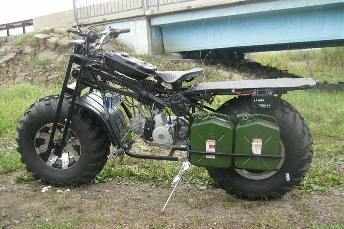 Двухколёсный полноприводный мотовездеход Васюган 2×2