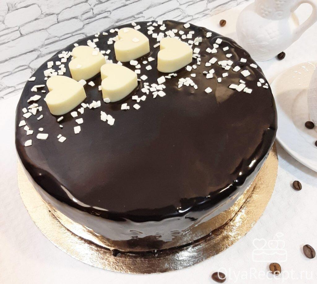 Торты с картинкой и шоколадной глазурью