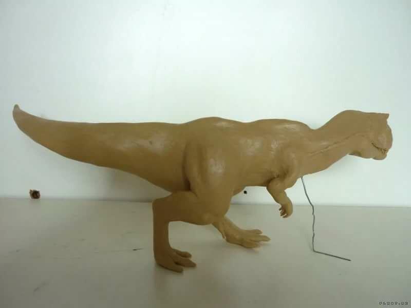 динозавр пластилиновый картинка фаткулина