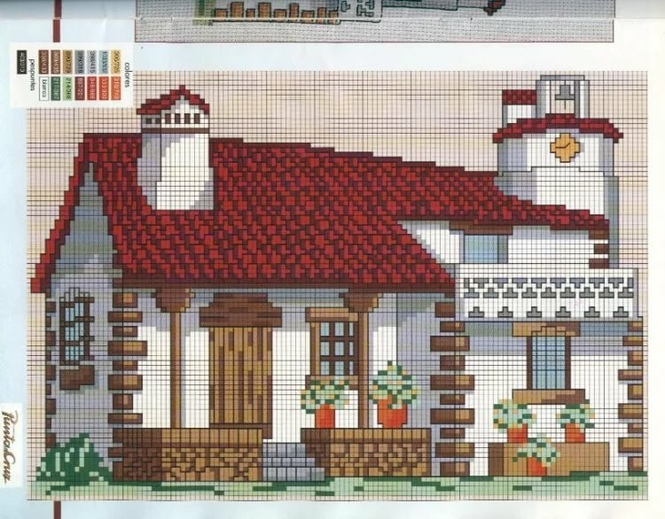 Картинки схем домов