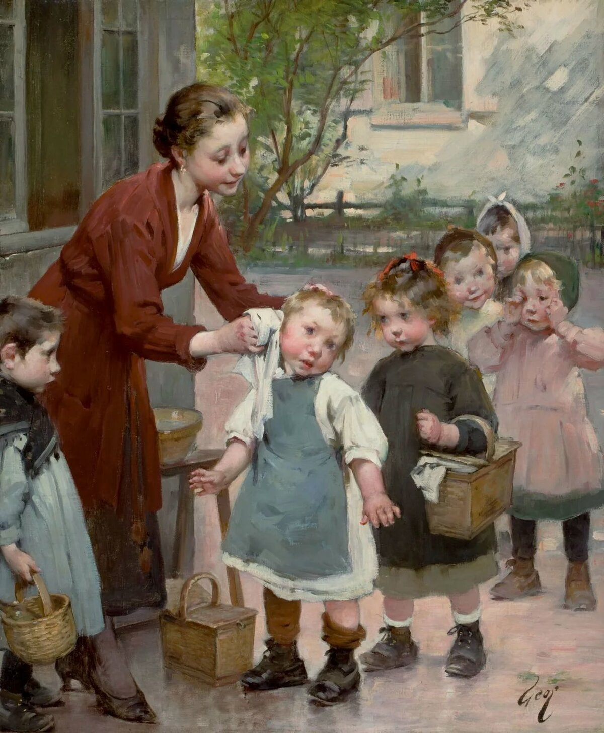 картины русских художников о детях картинки получаются ансамбли, основанные