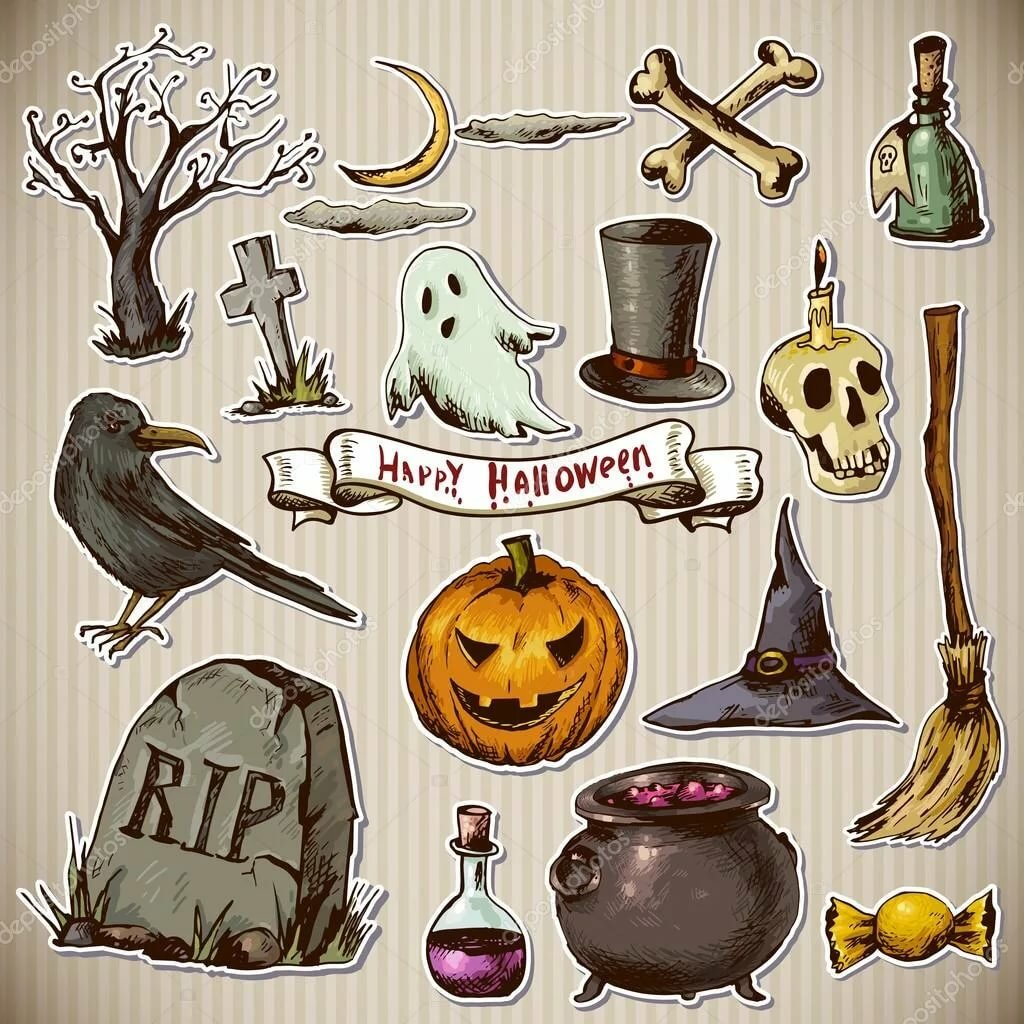 картинки хэллоуина в личный дневник знать, что