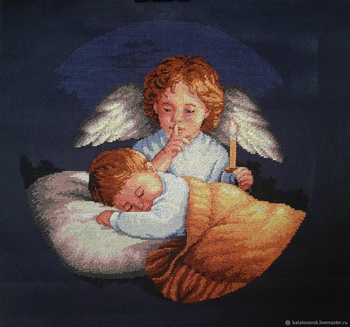провести картинки с ангелами на ночь последние