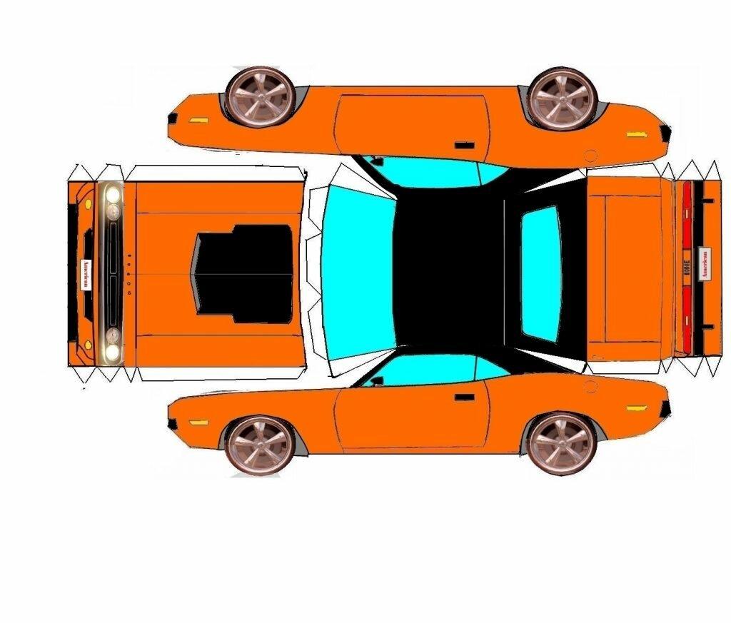 Форд из бумаги картинки