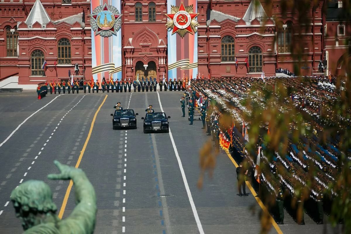 Фоторепортажи парад победы