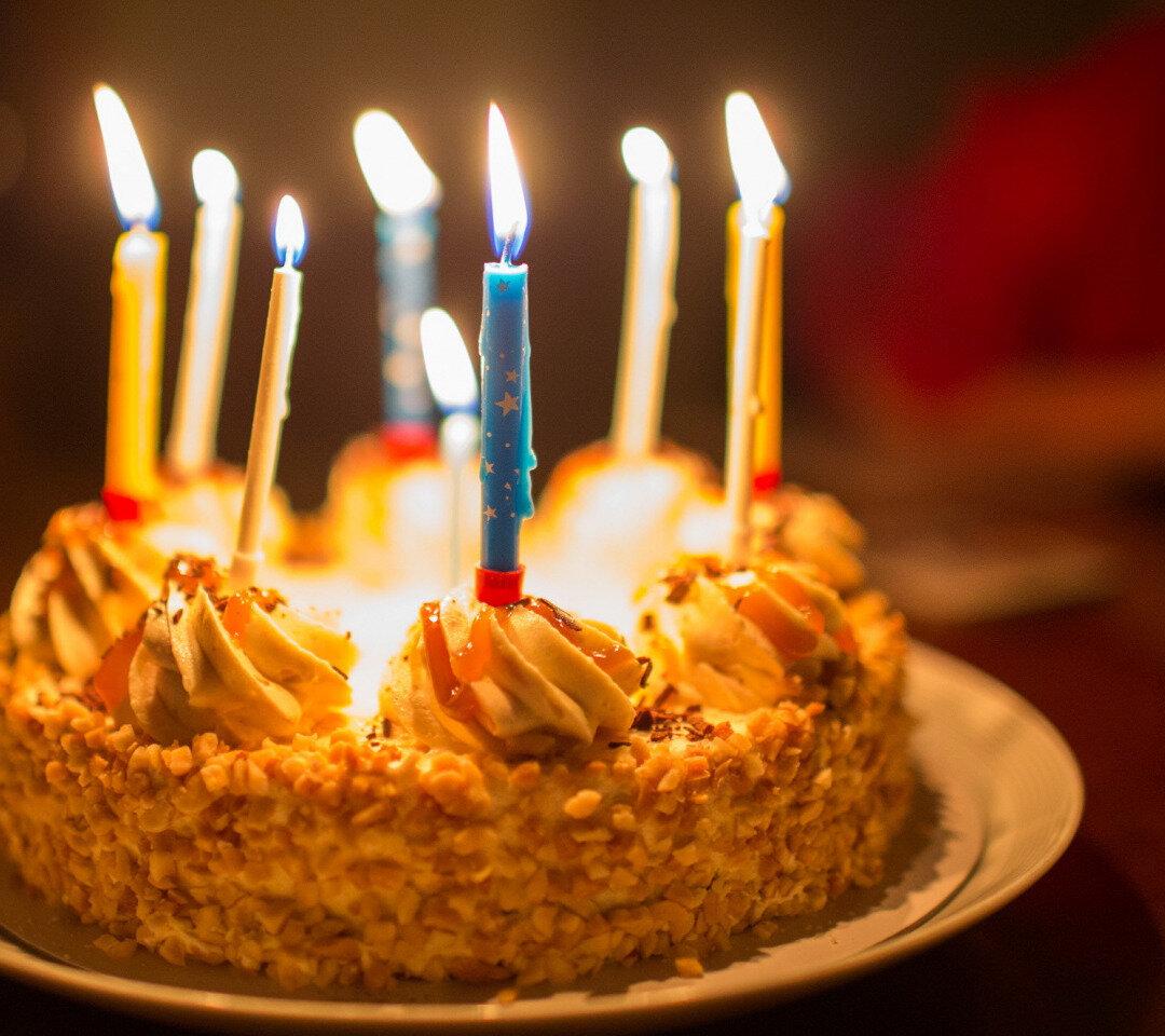 фото день рождения фотографии городе