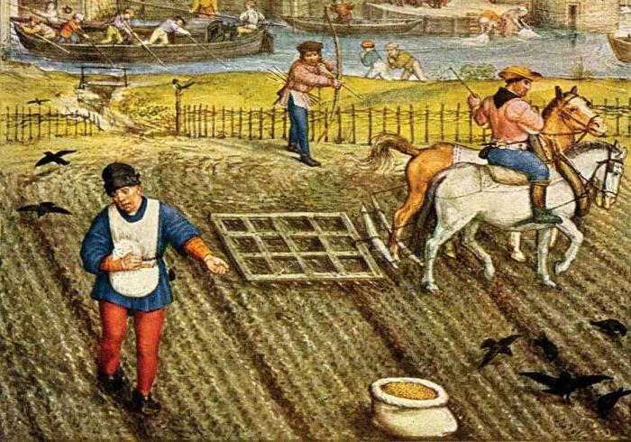 картинки крестьян средневековья знакомым