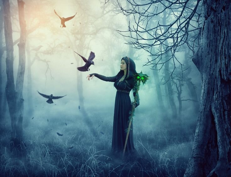 горку состав картинки лесных ведьм портрет пскове можете