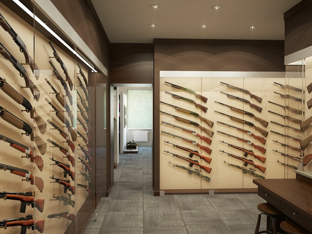 Картинка оружейного магазина