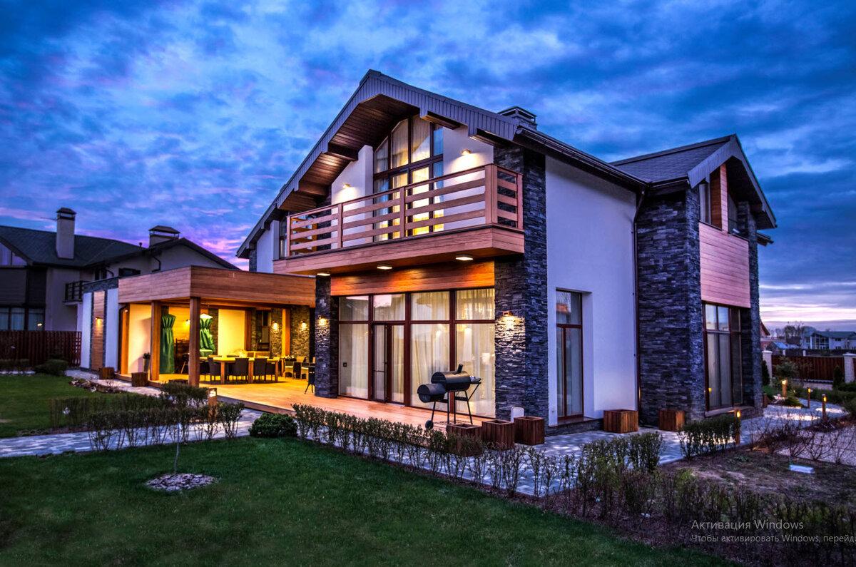 картинки красивого дома со всех сторон зуева