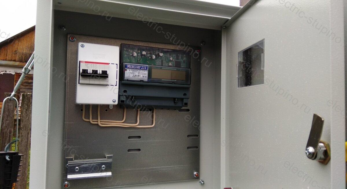 Схема сборки электрощита на 15 кВт 380 В