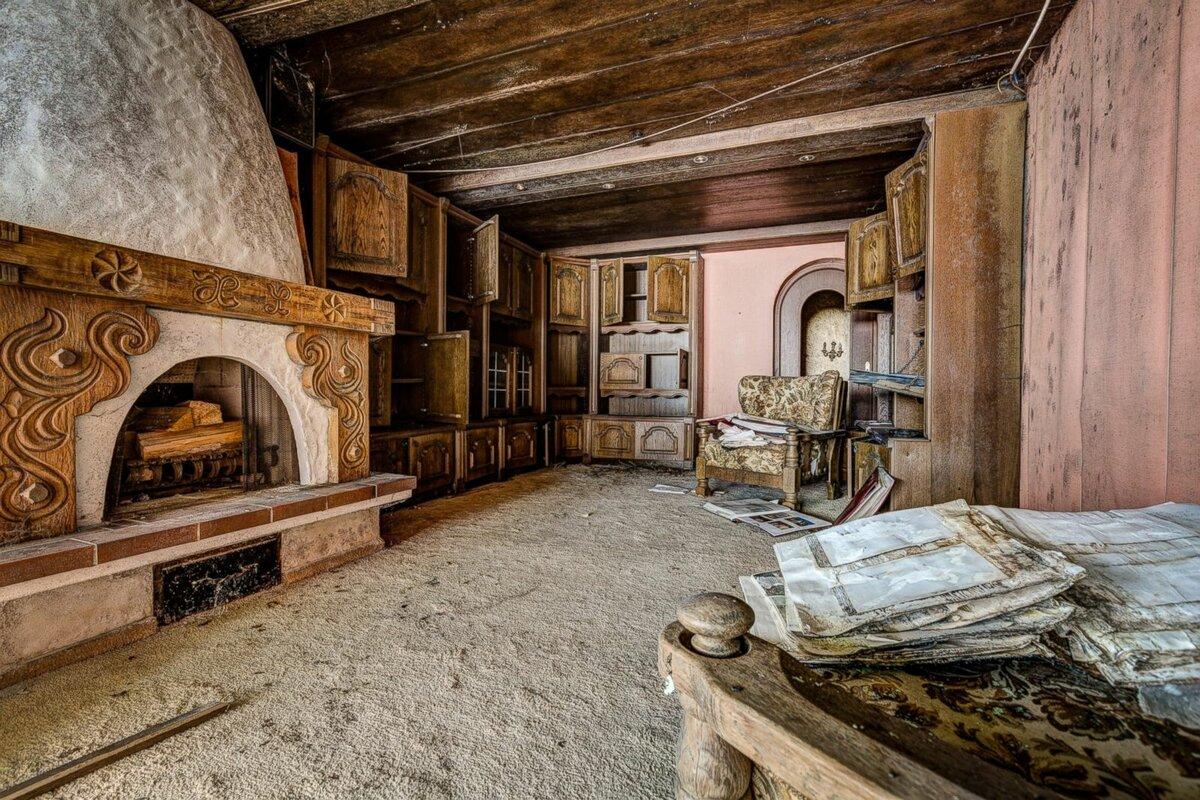 отделение картинки старого дома изнутри последние годы