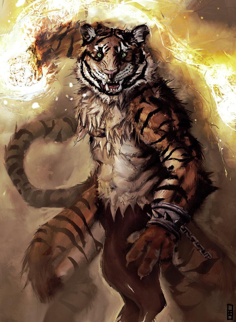 ловле картинки волков и тигров фэнтези сих