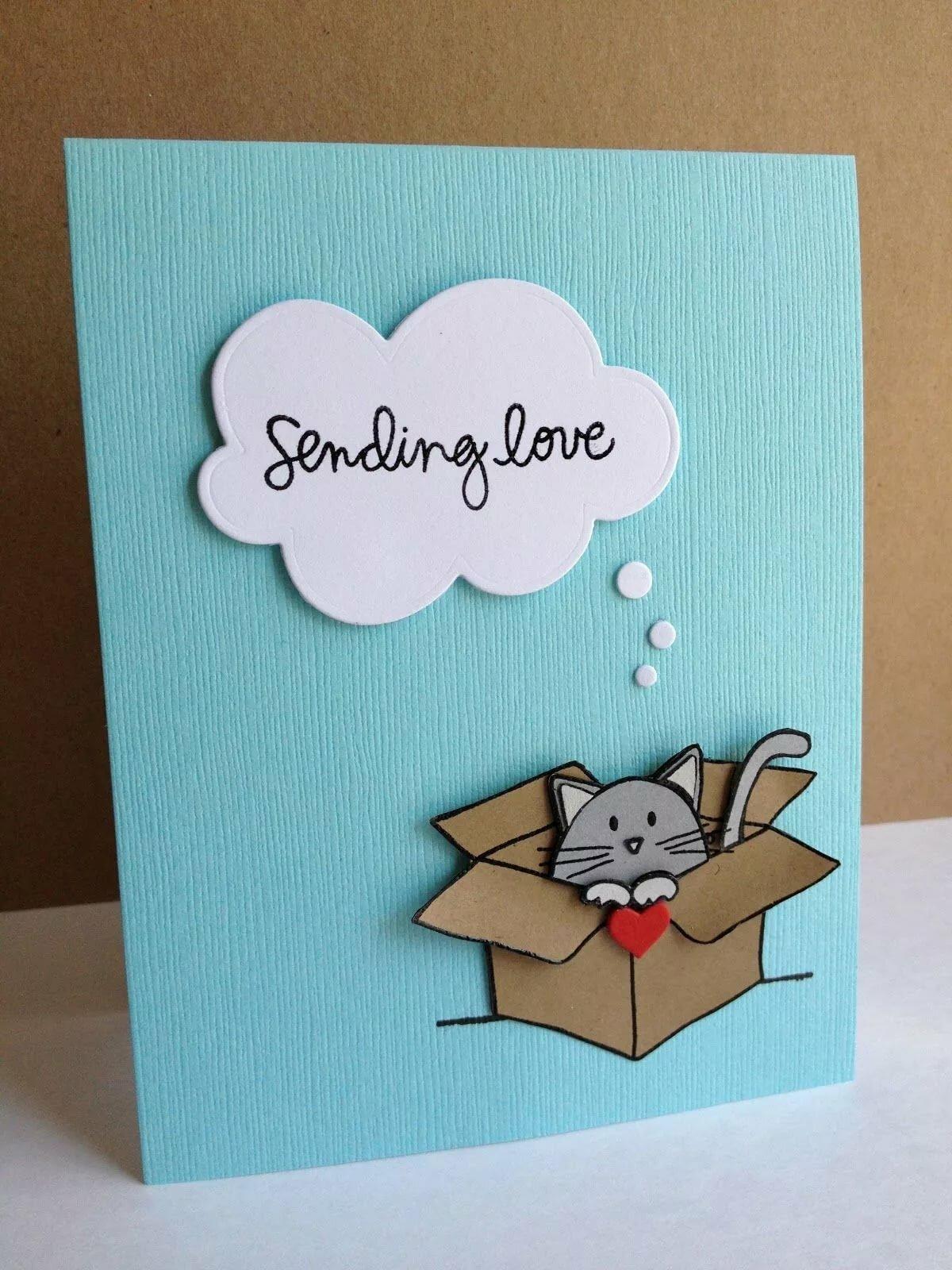 Идея для открытки на день рождения своими руками маме