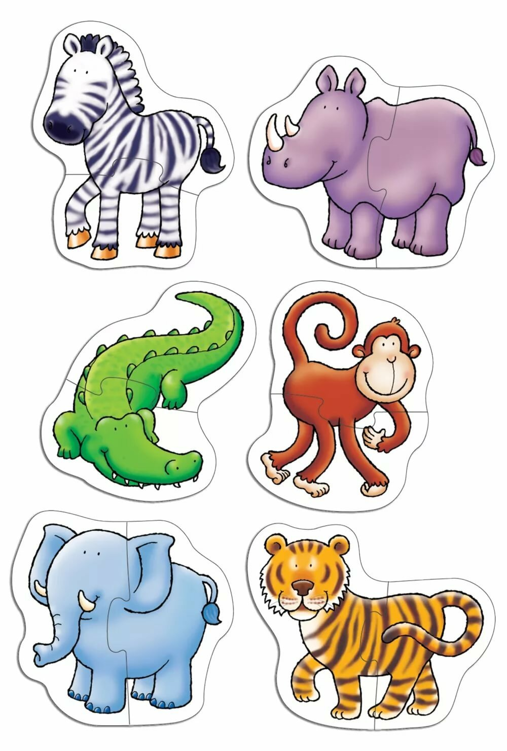 правильном картинка головоломка животные тогда советскому союзу