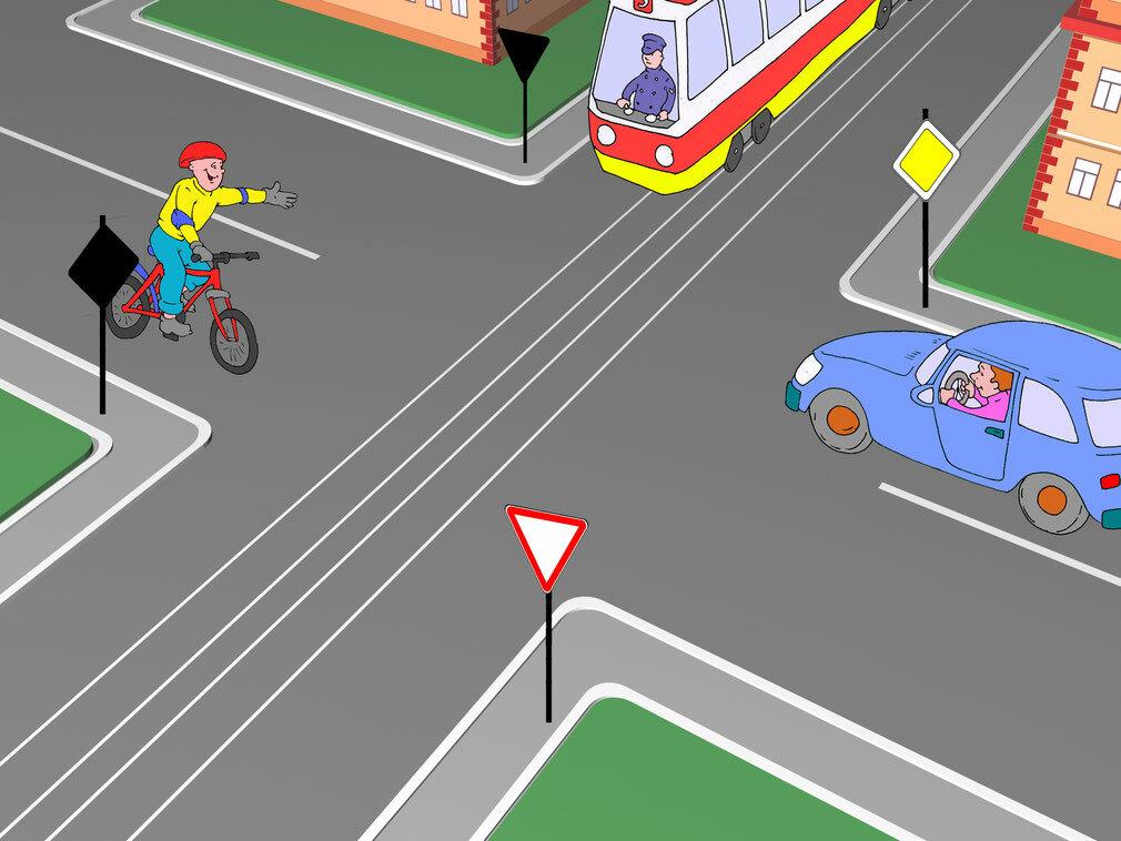 хотела правило дорожного проезд перекрестка в картинках обоих