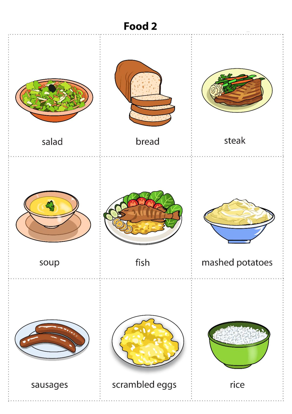 Английский тема еда картинки