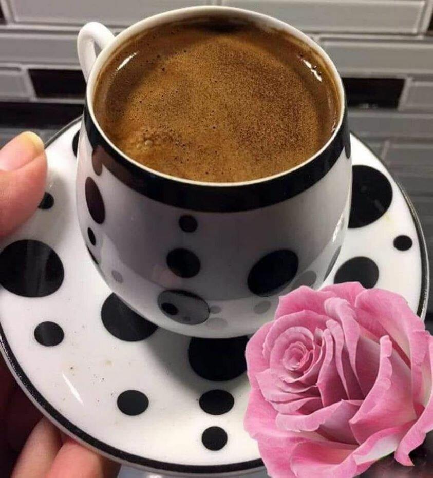 красивые открытки с добрым утром чашка кофе как