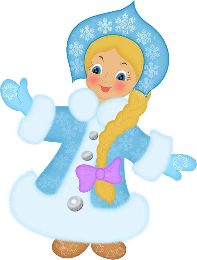Картинки снегурочка мультяшная