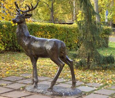 смоленск сад блонье олень