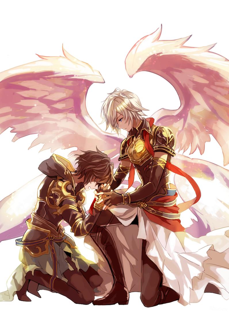 Аниме картинки архангелов