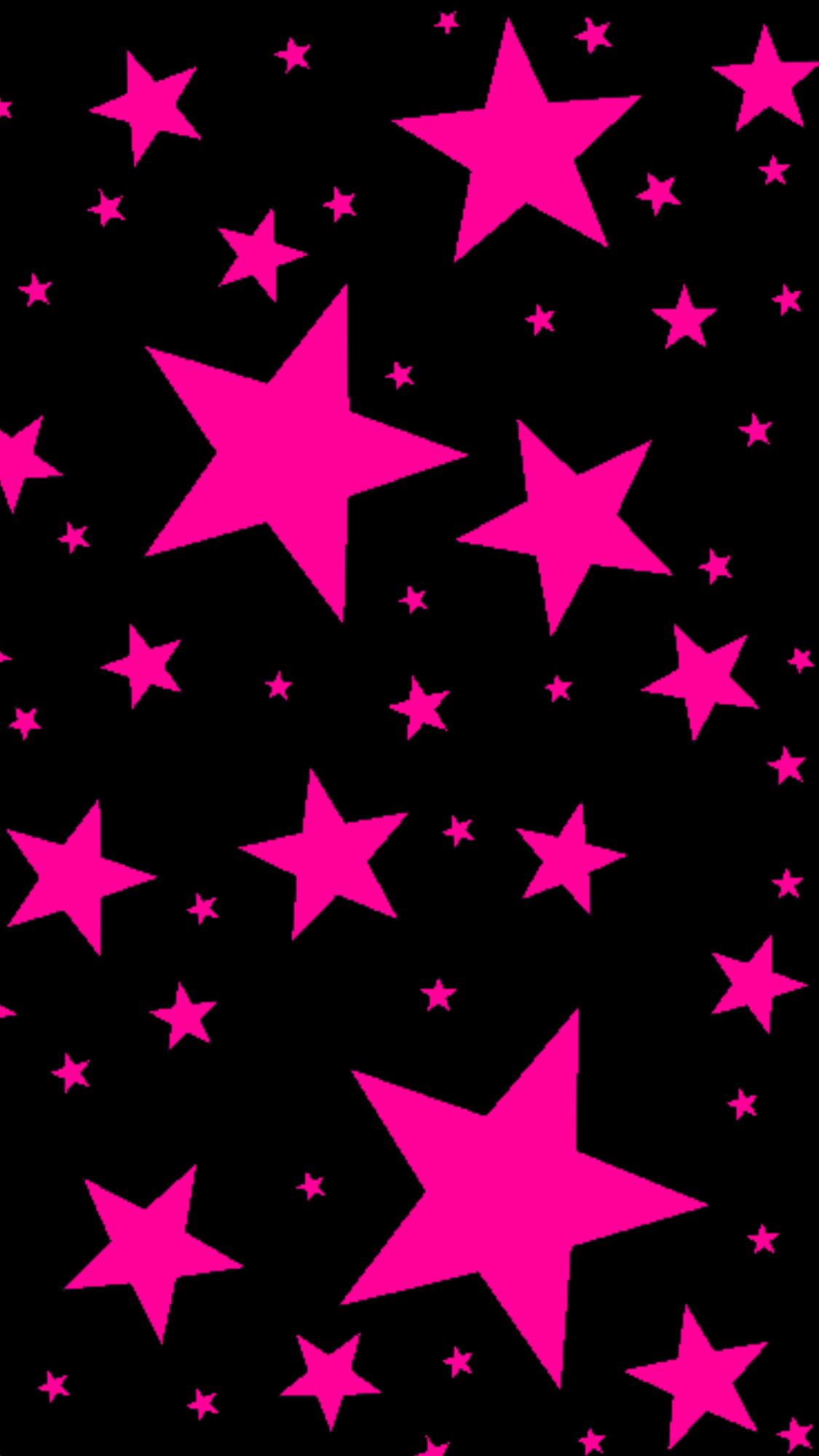 Обои на телефон со звездами на черном фоне