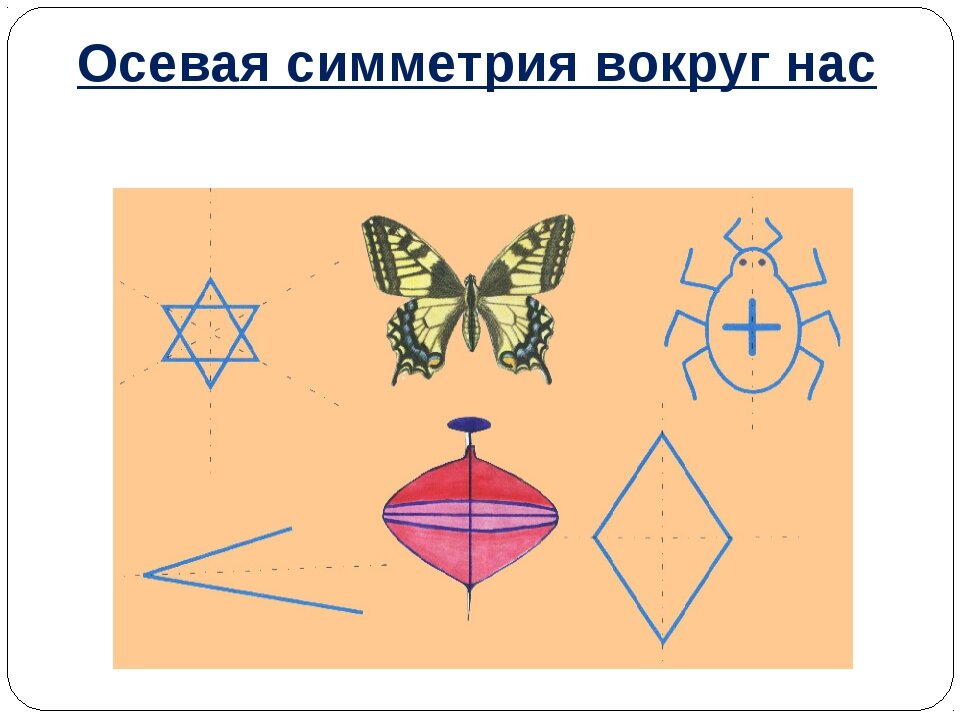 пример осевой симметрии картинка вами популярная