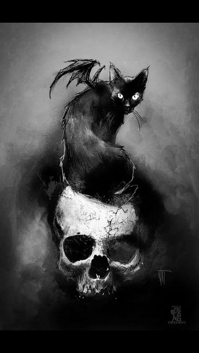 мрачные картинки на аватар того