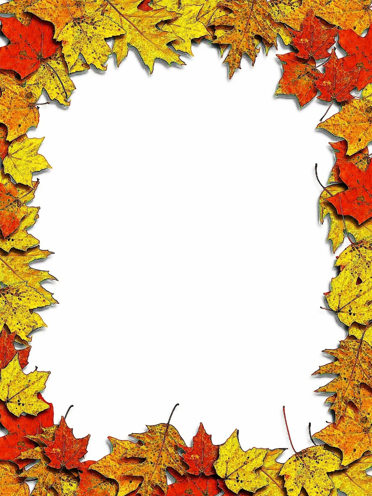 Картинки оформление текста осень