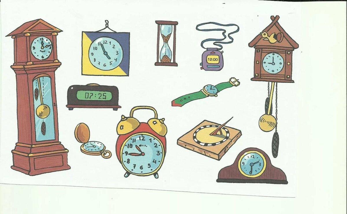 Картинки в виде часов
