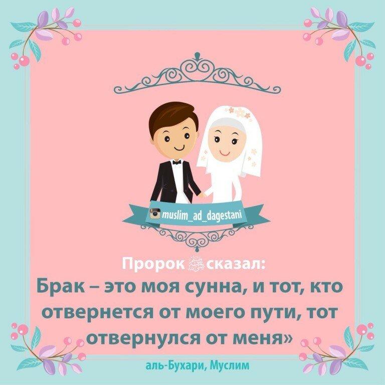 Хадисы про жен и мужей в картинках
