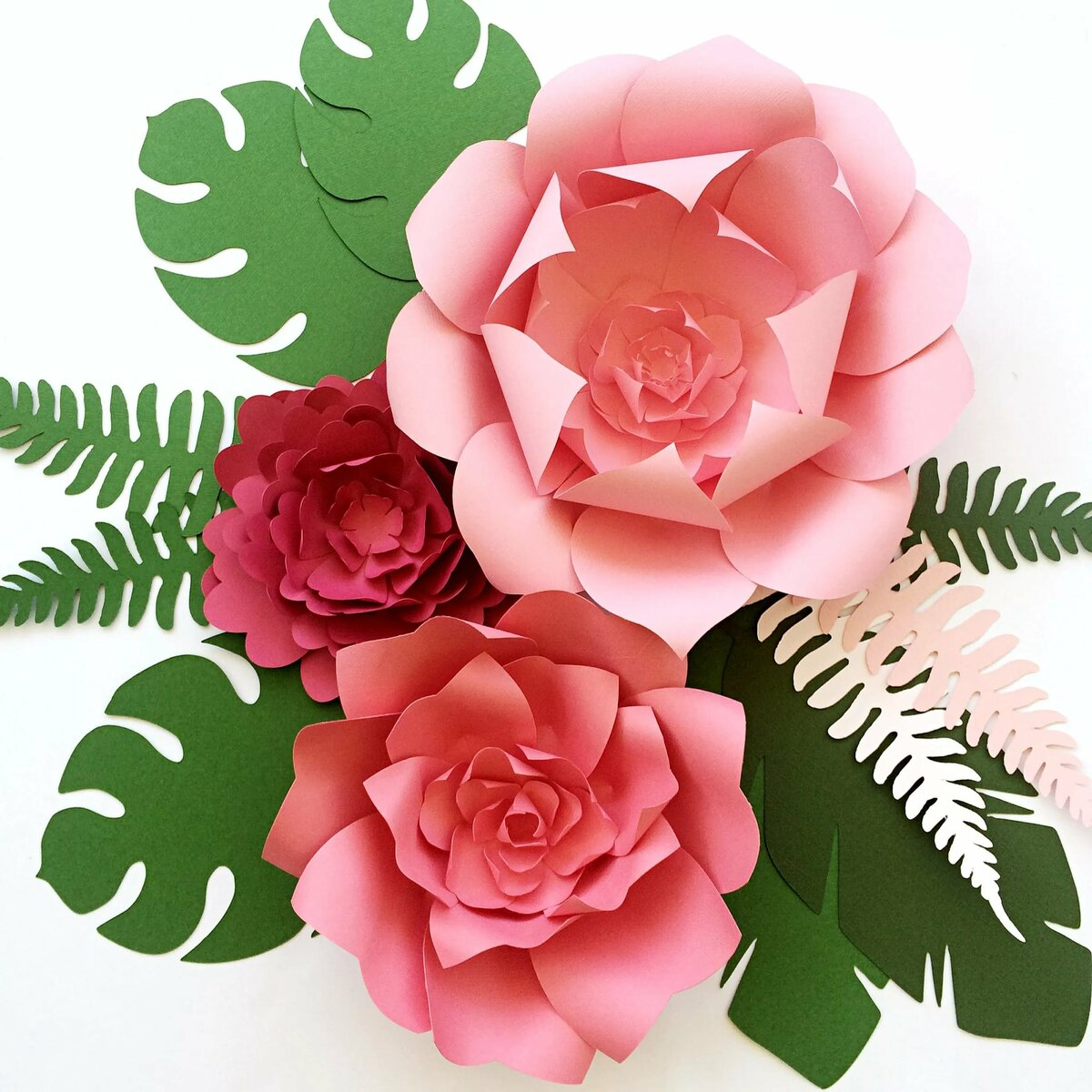 представлен картинки поделок цветов из бумаги таком