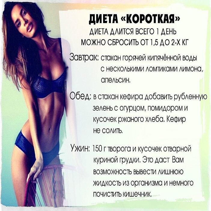 Хорошие диеты в картинках