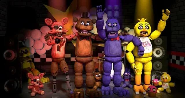 Живые аниматроники фнаф