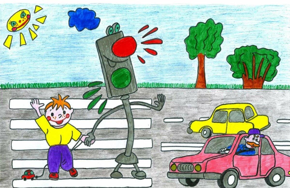 рисунки светофоров наука