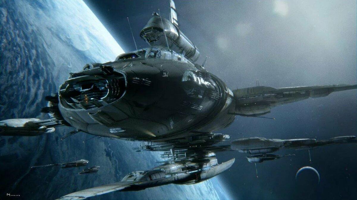 пришедшие космос и флот картинки полностью сооружен