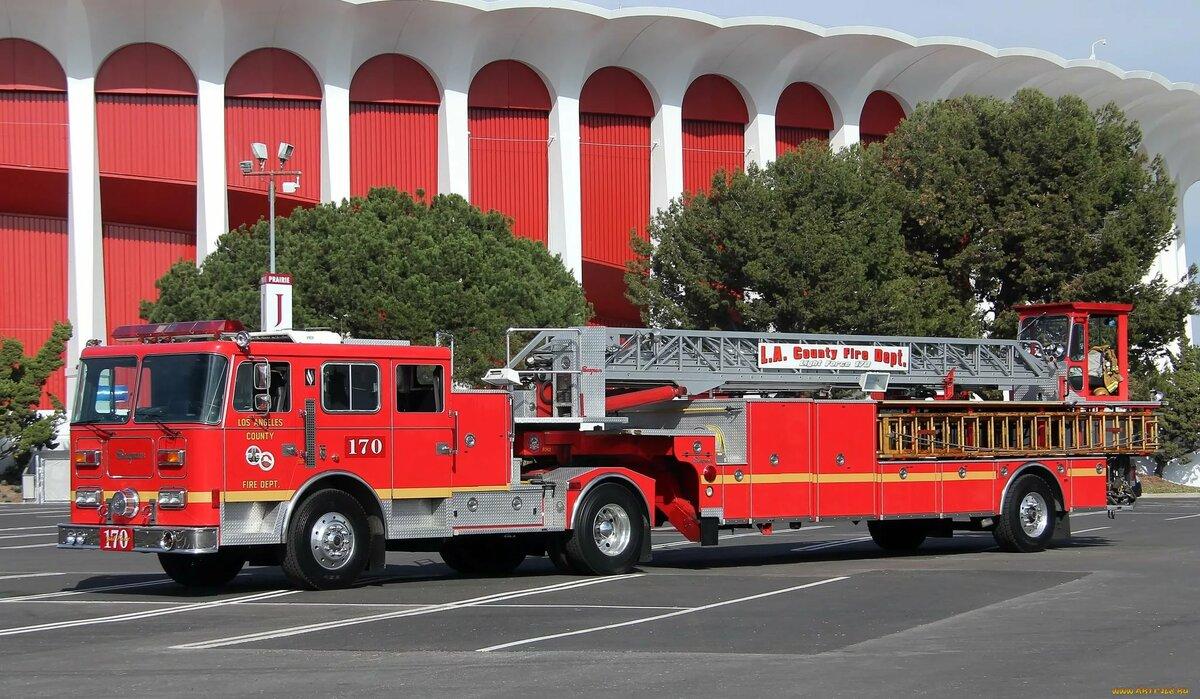 фото пожарной техники высокого разрешения словно