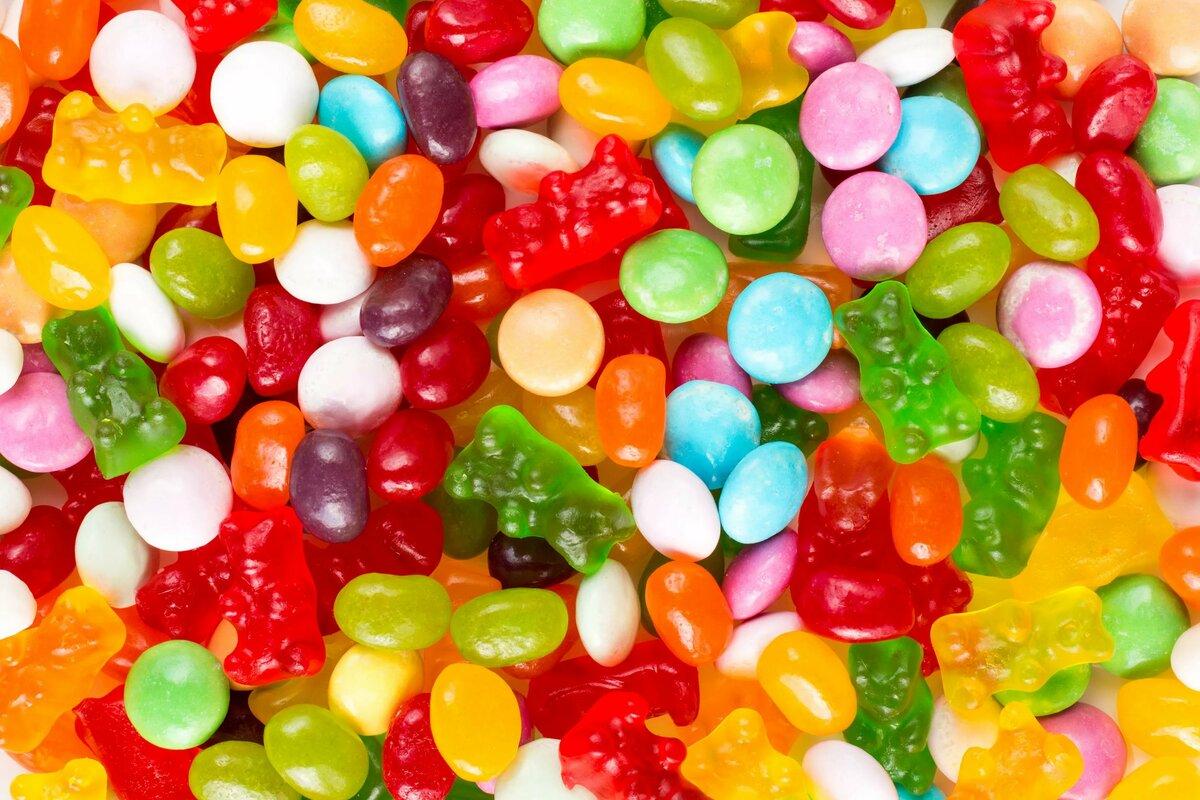 Картинки конфетки яркие
